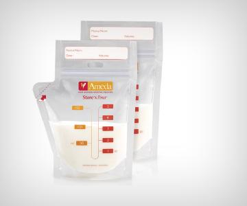 Bolsas para almacenar la leche materna